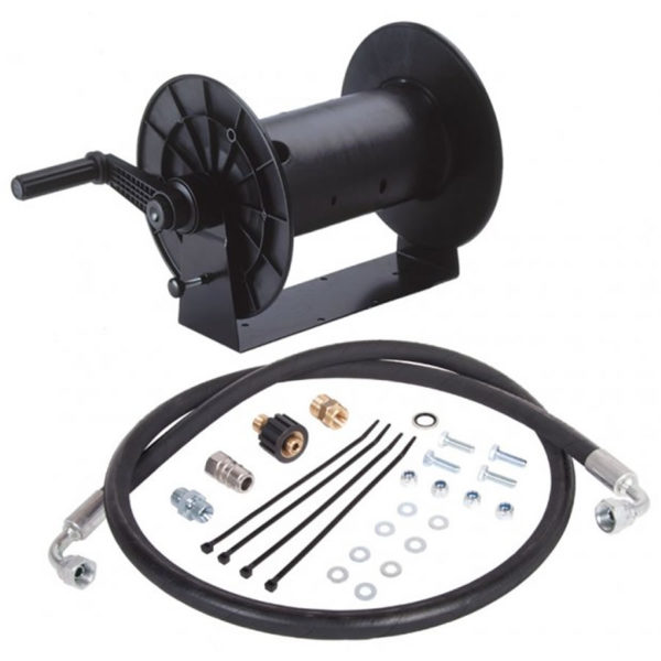 Pressure Washer 40m Hose Reel Kit